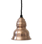 plain copper lampshade